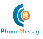 logo phone message
